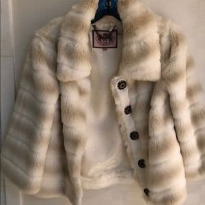 5e06b2e80248 Women s Juicy Couture Faux Fur Coat on Poshmark